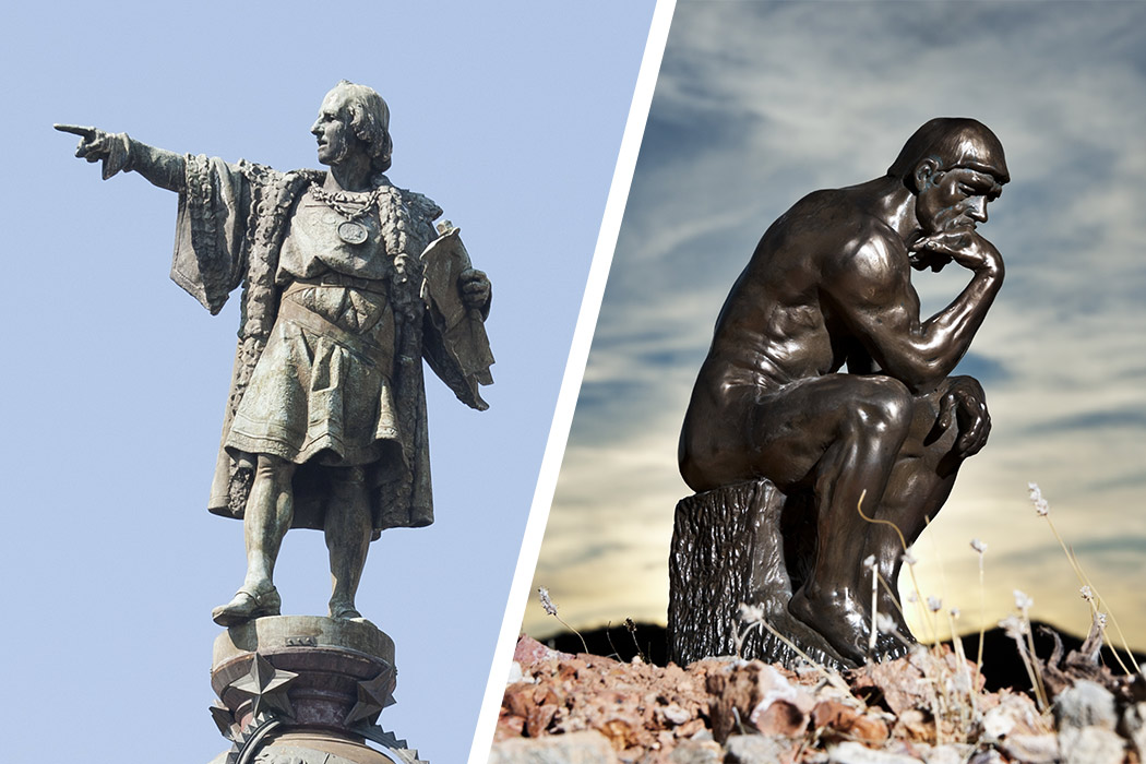 Blog Most famous statues in Spain and France